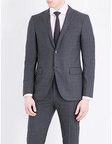 Corneliani Slim-fit Notch Lapel Pure-wool Jacket