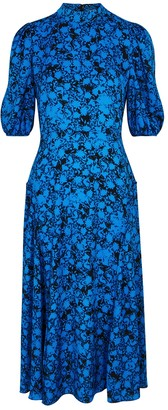 Diane von Furstenberg Nella floral-print midi dress