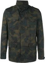 Etro camouflage print jacket