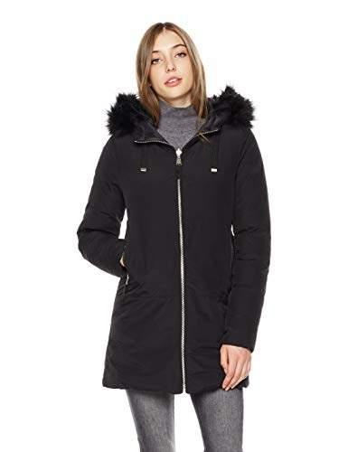 bcc33ad42d Faux Fur Hooded Down Coat - ShopStyle