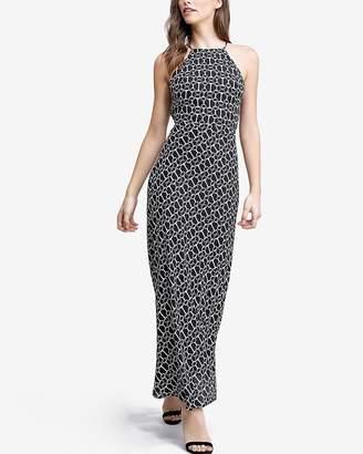 Express Emory Park Halter Maxi Dress
