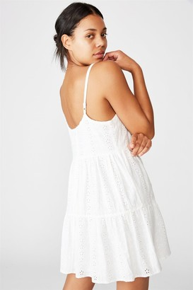 Cotton On Woven Betty Tiered Mini Dress