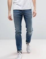 Tommy Hilfiger Simon Skinny Jeans Dynamic Stretch In True Mid Wash