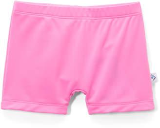Kanu Surf Girls' Board Shorts Neon - Neon Pink Swim Shorts - Toddler & Girls