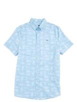 Vineyard Vines Boy's Tuna Batik Whale Shirt