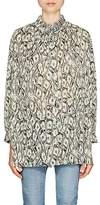 Balenciaga Women's Money-Print Plissé Tunic