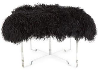 Jonathan Adler Mongolian Lamb Bench