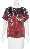 Philipp Plein Silk Printed Top