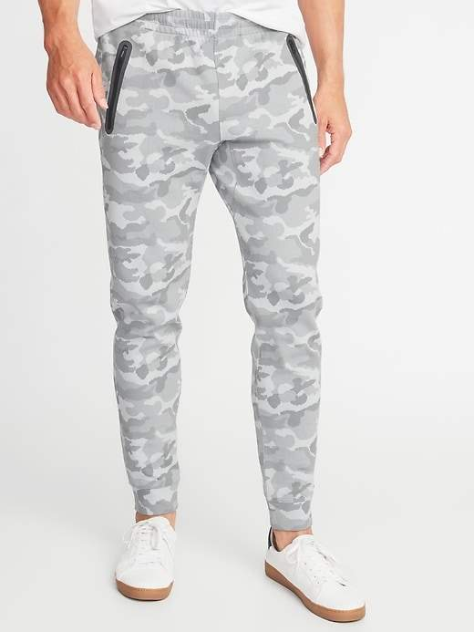 Old Navy Camo Dynamic Fleece 4-Way-Stretch Joggers for Men
