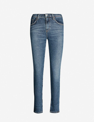 AGOLDE Toni slim-fit mid-rise jeans