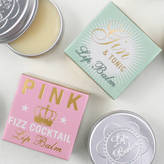 Bath House Pink Fizz Cocktail And Gin And Tonic Lip Balm Duo