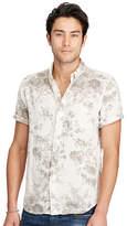 Ralph Lauren Floral Cotton Sport Shirt