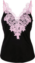 Givenchy lace trim camisole - women - Silk/Cotton/Polyamide/Viscose - 36