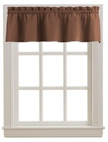 Nobrand No Brand Peach Skin Valance - Chocolate