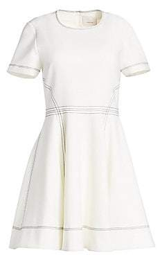 Cinq à Sept Women's Bryce Short Sleeve Fit-and-Flare Dress