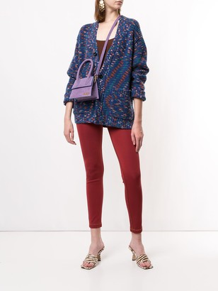 M Missoni High-Rise Skinny Trousers