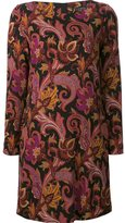 Etro floral print shift dress - women - Spandex/Elastane/Viscose - 40
