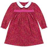 Cairenn Foy - Hayley Style Dress In Red Ditsy Cotton Long Sleeve Dress With White Peter Pan Collar