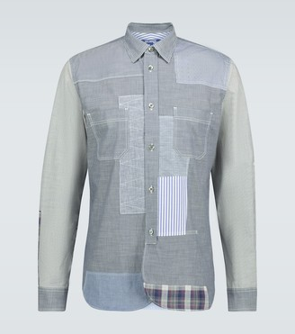 Junya Watanabe Patchwork regular-fit shirt