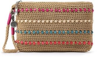 The Sak Sayulita Crocheted Wristlet w/ Removable Strap