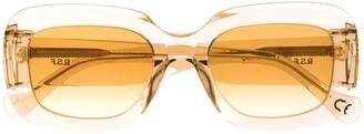 RetroSuperFuture Transparent Oversized Sunglasses