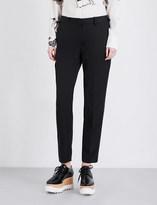 Stella McCartney Straight-cut wool tuxedo trousers