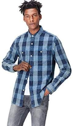 find. Men's Shirt Long Sleeve 2 Pockets,Large