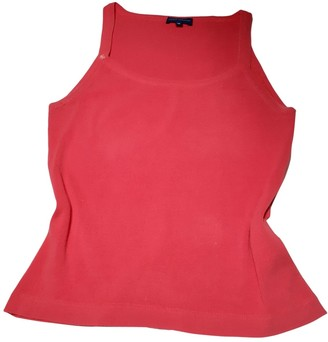 Adolfo Dominguez Red Cotton Top for Women