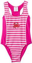 Playshoes Girl's UV Sun Protection Bathing Crab Swimsuit,6-9 Months (Manufacturer Size:74/80 (6-12 Months))