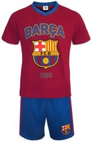 F.C. Barcelona FC Barcelona Official Soccer Gift Mens Loungewear Short Pajamas