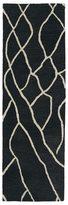 Peaks Hand-tufted Utopia Charcoal Wool Rug (3' x 10')