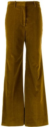 Victoria Beckham High Waisted Wide Leg Trousers