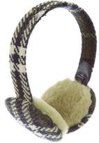 Burberry Wool Plaid Earmuffs