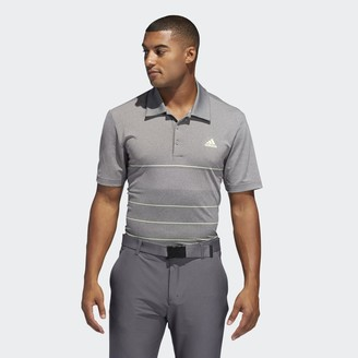 adidas Ultimate365 Heathered Stripe Polo Shirt