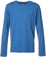 A.P.C. longsleeved T-shirt - men - Cotton - M