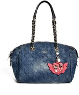 GUESS Darin Denim Satchel