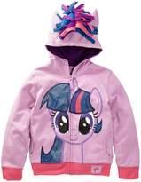 Freeze My Little Pony Twilight Sparkle Costume Hoodie (Big Girls)