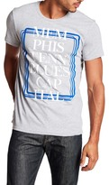 William Rast Graphic Blues Capital Tee