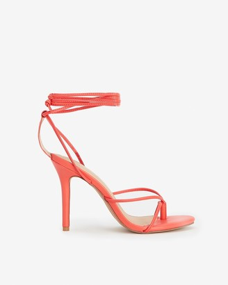 Express Strappy Heeled Thong Sandals
