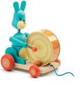 Djeco Bunny boum pull-along toy