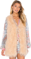 Show Me Your Mumu Luis Faux Fur Vest