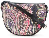 Etro paisley print saddle bag