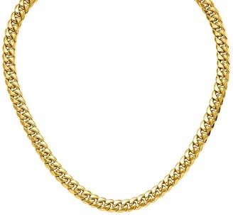 "14K Gold 26"" Cuban Link Necklace, 63.1g"
