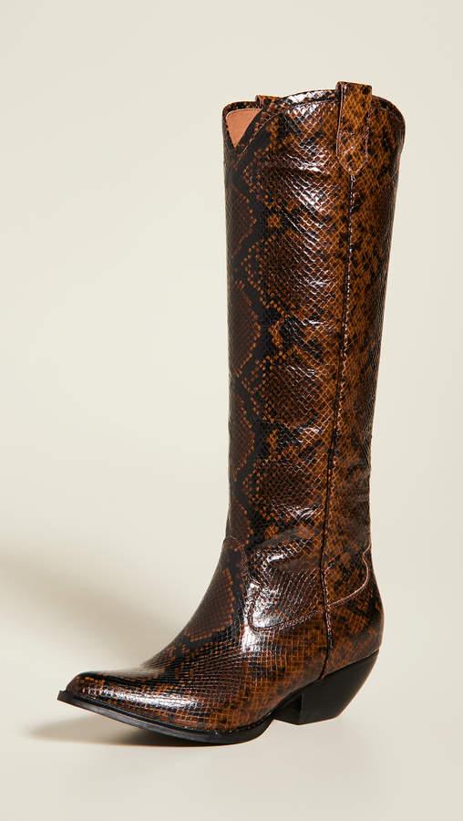 905851c5203 Calvera Tall Western Boots