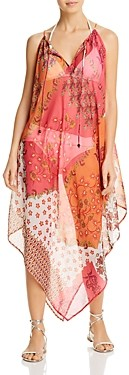 Echo Flora Handkerchief Dress Swim Cover-Up