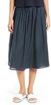Vince Women's Pleated Wrap Skirt