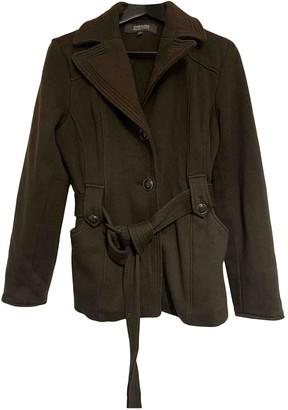 Kenneth Cole Khaki Wool Coat for Women