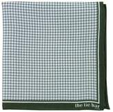 The Tie Bar Printed Linen Houndstooth