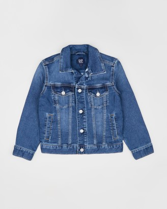 Gapkids Icon Supersoft Denim Jacket - Teens
