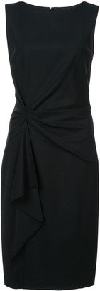 Carolina Herrera Gathered Detail Dress